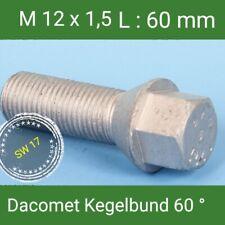 Tornillos de Rueda M12x1, 5 Perno St Selección Dacromet Kegelbund 60° SW17L :