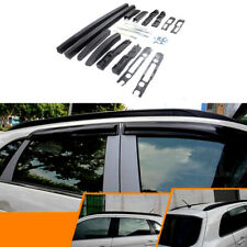 For Mitsubishi ASX 2013-2020 Car Roof Rack Luggage Carrier Side Bars Rails Black