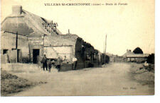 (S-87069) FRANCE - 02 - VILLERS ST CHRISTOPHE CPA      PETIT ed.