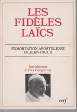LES FIDELES LAÏCS - Exhortation apostolique de JEAN-PAUL II.