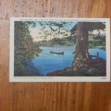 Vintage Postcard Mountain Lake In The Alleghany Mountains Of Virginia