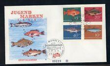 BUND Nr.412-415 SCHMUCK-FDC ESST BONN 10.4.1964 FISCHE ME 22,-++ (120175)