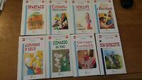 giovani lettori la spiga - 8 libri biografie per ragazzi da 9 a 12 anni 18 euro