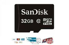 Genuine Sandisk 32GB clase 10 Tarjeta de memoria Micro Sd HCI La Venta!!! La Venta!!! la venta!!!
