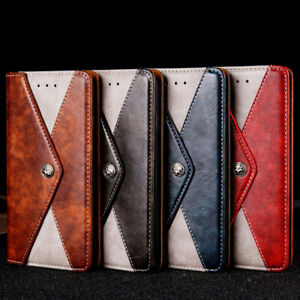 Genuine Leather Case Cover for Moto One Vision Macro Zoom E5 E6 Play G7 G8 Plus