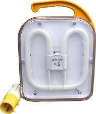 110v Lámpara De Trabajo 38w 2D Obra Luz IP44 Fluorescente Ideal Construcción