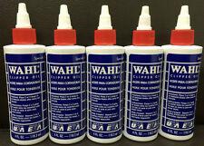 Wahl Geniune Huile pour Tondeuse X 5 - 118ml pour Tondeuse À Cheveux (3310-817)