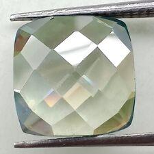 Green Cushion Rose Cut Loose Moissanite 4 Ring 0.52 Ct 4.91 x 4.71 Mm Vvs1 Mint