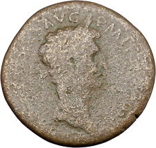 Nerva 97AD Sestertius Big Ancient Roman Coin Fortuna Luck Cult  i45658