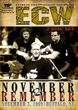 ECW Wrestling: November To  Remember 1999 DVD, Raven Sandman Tommy Dreamer