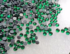 Hotfix 750pcs DMC EMERALD GLASS CRYSTAL SS16 (3.8-4mm) Glass Rhinestones Iron On