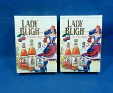 2 Decks of Lady Bligh Spiced Rum Playing Cards Unopened