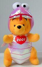 Japan Disney Store~HEBI 2001 Pink Snake Pooh
