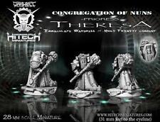 HITECH MINIATURES - 28SF053 Prioress Theresa 28mm *Warhammer 40k 40000*