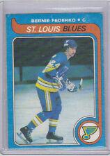 79-80 OPC O-Pee-Chee Bernie Federko Hockey Card #215 (2nd Year) (VG-Ex)