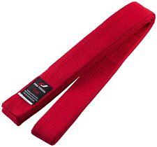 Pro Touch Unisex Niños Hombre Mujer Cinturón Budo Rojo