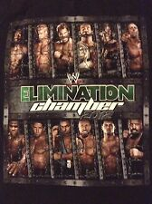 WWE Elimination Chamber 2012 T-Shirt XL CM Punk John Cena Y2J Daniel Bryan WWF