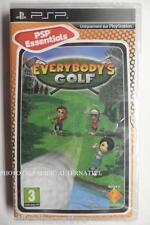 jeu EVERYBODY'S GOLF 1 pour playstation PSP sony francais game spiel juego NEUF