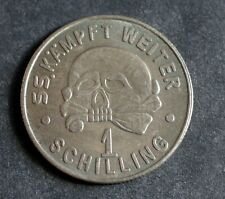 More details for ww2 german coin 1939 ss kantinegeld