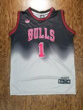 Chicago Bulls #1 Derrick Rose Adidas NBA Jersey Limited Edition Sz XXL/2XL
