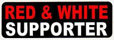 "HELLS ANGELS BIG HOUSE CREW ""RED & WHITE SUPPORTER"" STICKERS - BK"