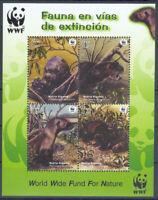 WWF - PERU - Block Riesenotter Otter - 2004 - perfekt - **/MNH
