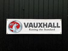 LARGE 2 METRE Vauxhall Car Banner for Garage / Shop Display Astra Nova GTE VXR
