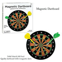 Funtime Magnetic Dartboard Outdoor Indoor Fun Family Kids Adults Toys Games Set