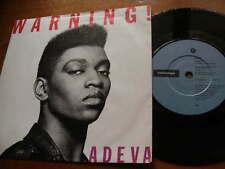 ADEVA<1989>WARNING,RESPECT<45rpm VINYL SINGLE 7ins JUKEBOX