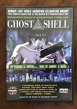 Ghost in the Shell (Dvd, Original Japanese Dubbed and Subtitled English Anime)