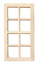 Dollhouse Houseworks Standard 8-Light Window HW5023