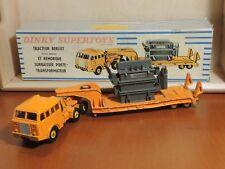 DINKY TOYS SUPERTOYS Truck 898 BERLIET Tractor TRANSO TRANSPORTER VINTAGE