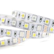 12V 5m LED Stripe Streifen RGB+W RGBW SMD 5050 IP20 Kaltweiss 6500K Band dimmbar