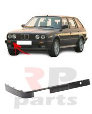 FOR BMW 3-SERIES E30 1987-1990 NEW FRONT BUMPER MOLDING TRIM BLACK RIGHT O/S