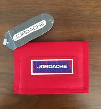 NEW with Tag Vintage Red Jordache Velcro Wallet Credit Card Holder