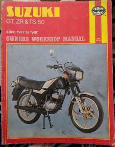 Suzuki GT50 / ZR50 / TS50 Haynes Owners Workshop Manual