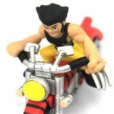MARVEL SUPER HERO SQUAD X-MEN WOLVERINE & MOTOBIKE FIGURE XMAS GIFTS FG100