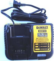 Dewalt GENUINE DCB112 12V-20V MAX Lithium Battery Charger,For Drill,Saw 20 volt