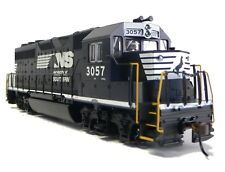 HO Scale Model Railroad Train Engine Norfolk Southern GP-40 Locomotive DCC Sound