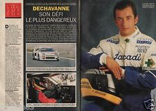 Coupure de presse Clipping 1993 Christophe dechavanne  (4 pages)