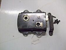 Original victorian rim lock with keep & screws  lock~37