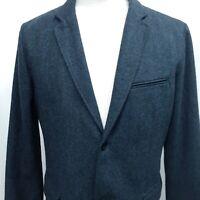 GAP Large 42 Tailored Tweed Wool Blend  Blazer Jacket Sport Coat unstructured
