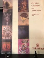 Christie's Catalogues and Publications, Subscription Guide 1994