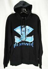 Diamond Supply Co. Men's Black Ice Blue Graphic Hoodie Sweater Size Large sample