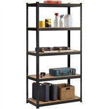 More details for 5-tier steel storage shelves,multipurpose shelves for home/kitchen/livingroom