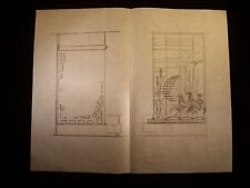 Window's View Original Pencil Sketch 1946-59 By C. Kelm