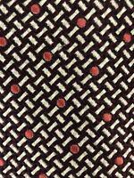 Tom Ford Mens Silk Luxury Designer Necktie Italy Brown Orange Beige Tie EUC