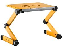 "Pwr+® 17"" Adjustable Laptop Table Notebook Stand Ergonomic Design 2x Fans"