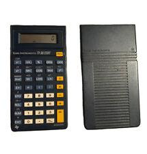 Texas Instruments TI-30 STAT / Calculatrice Calculette Scientifique + Cache Bleu