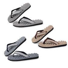 Herren Junge Schuhe Beach Home Flip Flops Slippers Sommer-Sandelholz-Massage Hot